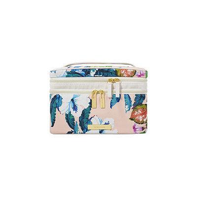 Tartan + Twine Waverly Vine Double Zip Train Case Print