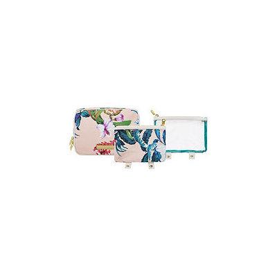 Tartan + Twine Waverly Vine 3pc Beauty Organizer Print