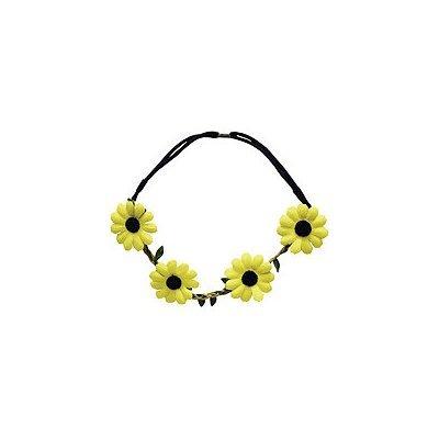 Burmax Yellow Daisy Headband