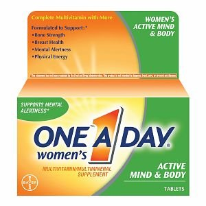 One A Day Women's Active Mind & Body