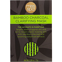 Miss Spa Charcoal and Bamboo Detox Facial Mask