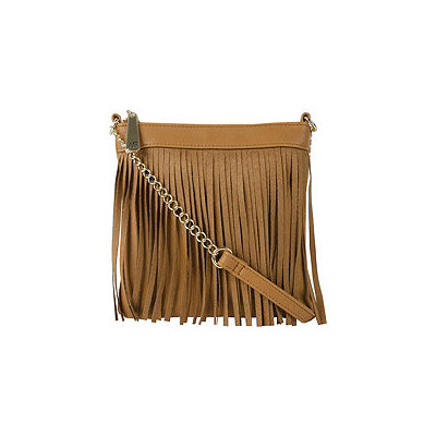 Anna Martina Franco Sassy Fringe Cross Body Bag