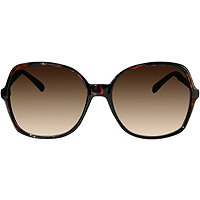 Outlook Eyewear Pyramid Oversized Tortoise Sunglasses