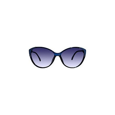 Outlook Eyewear Avril Teal Blue Cateye Sunglasses