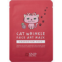 SNP Cat Wrinkle Face Art Mask Sheet