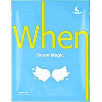When Snow Magic Sheet Mask 0.8 oz