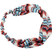 Riviera Southwest Chevron Head Wrap