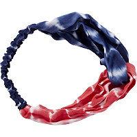 Riviera Tie Dye Americana Turban Head Wrap
