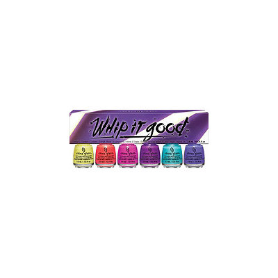 China Glaze Whip It Good 6 Pc Mini Set