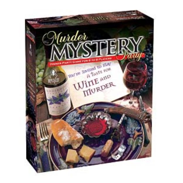 BePuzzled Wine and Murder Mystery Party Game ages 16+