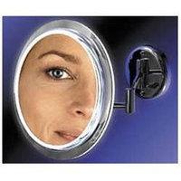 Zadro - Surround Light 5X Wall Mirror SW35 Chrome