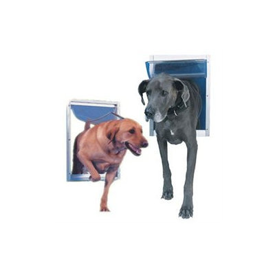 Perfect Pet by Ideal Small White Aluminum Pet Door