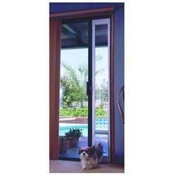 Ideal Pet Products 13000 Medium Patio DoorAluminum Finish