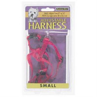 Doskocil - Aspen Pet .38in. x 8in. to 14in. Red Adjustable Harness 27220