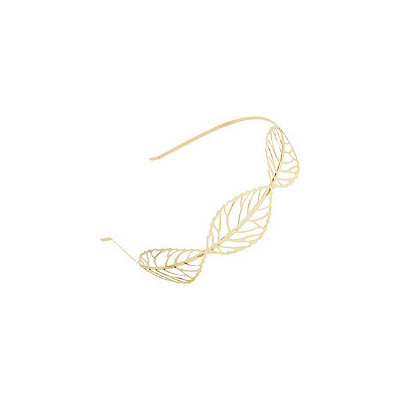 Elle Gold Leaf Headband