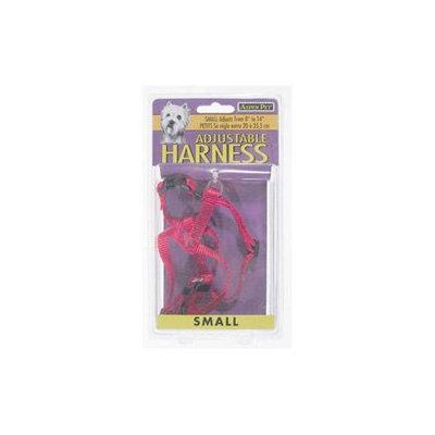 Doskocil - Aspen Pet .63in. x 4in. to 20in. Black Adjustable Harness 27227