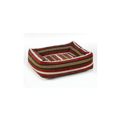 Bowsers Pet Products 7864 Small Microvelvet Dutchie Dog Bed Bowser Stripe