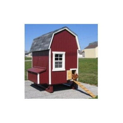 Little Cottage Co. Little Cottage Company 6 x 8 Gambrel Barn Chicken Coop