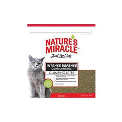 United Pet Group Nat Mirc 510885 Just for Cats Intense Defense Clumping Litter