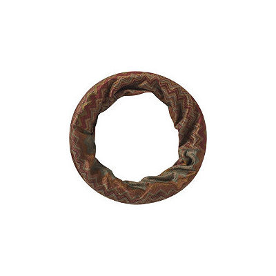 Elle Wide Chevron Olive Head Wrap