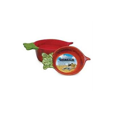 Super Pet Bowl Vege T Radish Orange