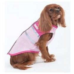 Ethical Fashion Pet Out and About Dog Coat Medium Pink