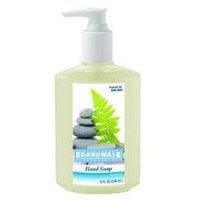 Gojo Boardwalk Liquid Hand Soap, Floral, 8oz Pump Bottle, 12/Carton