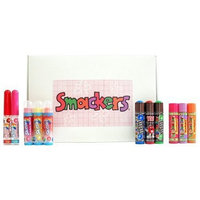 Bonne Bell Smackers Lip Gloss/Balm, Candy Collection, 1 kit