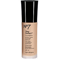 Boots Stay Perfect Foundation Broad Spectrum SPF 15