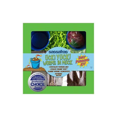 Sassafras Enterprises 2714 Kids Uck Yuck Dirt Pudding Tray Kit