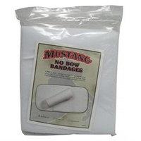 Mustang Manufacturing - No Bows Bandage- White 12 Inch - 8420-12