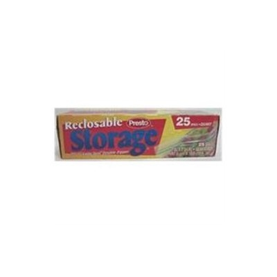 Presto Products 066097 Reclosable Storage Bags