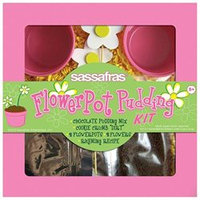Sassafras Enterprises 2713 Kids Flower Pot Pudding Tray Kit