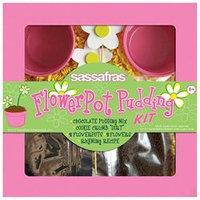 Sassafras Enterprises 2713 Kids Flower Pot Pudding Tray Kit