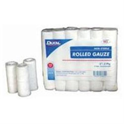 Dukal Corporation Ns Rolled Gauze White 3 Inch - 403