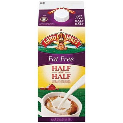 Land O'Lakes R Fat Free Half & Half, .5gal