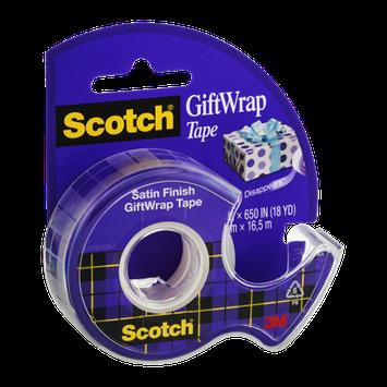 Scotch Gift Wrap Tape Satin Finish