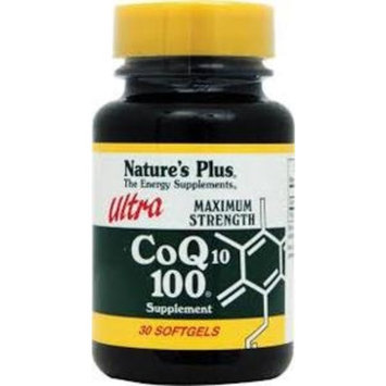 Nature's Plus Ultra Co-Q10 100mg - 30 - Softgel [Health and Beauty]