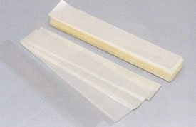 Plastic Suppliers Clear Acetate Sheets Cake Wraps, Pack of 1000 Sheets - 1-3/8 x 9-3/4