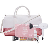 CHI Floral Flat Iron, Dryer & Styling Set With Tote