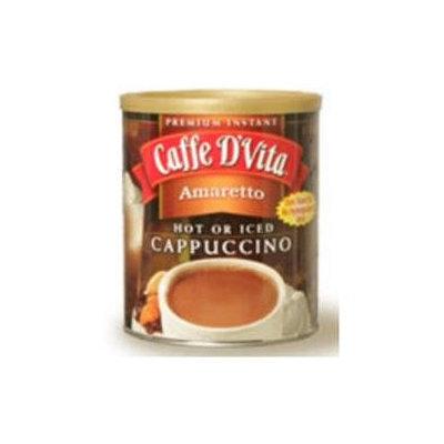 Caffe D'vita Caffe DVita F-DV-1C-06-AMAR-21 Amaretto Cappuccino 6 1lb canisters