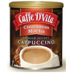Caffe D'vita Caffe DVita F-DV-1C-06-CINA-NU Cinnamon Mocha Cappuccino 6 1lb canisters