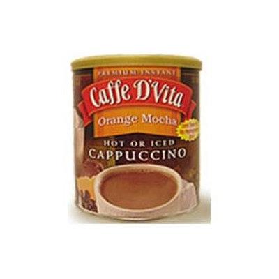Caffe D'Vita Orange Mocha Cappuccino, 16 oz Cans, 6 ct