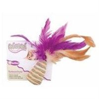 Ourpet's Company Ourpets Company 090026 Feathered Frenzy Cone with Feather