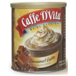 Caffe D'Vita Caramel Latte Blended Iced Coffee, Cans, 19 oz