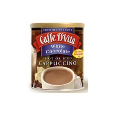 Caffe D'vita Caffe DVita F-DV-1C-06-WHCH-NU White Chocolate Cappuccino 6 1lb canisters