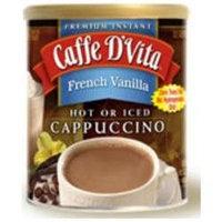 Caffe D'vita Caffe DVita F-DV-1C-06-FRVA-NU French Vanilla Cappuccino 6 1lb canisters