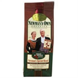 Frontier Natural Products Co-op 217981 Newmans Own Organics Fair Trade Certified Organic Coffee Newman Special Blend Whole Bean 10 oz.