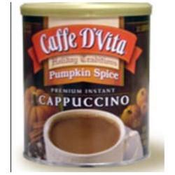 Caffe D'vita Caffe DVita Pumpkin Spice Cappuccino, 16 oz Cans, 6 pk