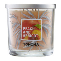 SONOMA Goods for Life™ Peach and Apricot 14-oz. Jar Candle, Multi/None